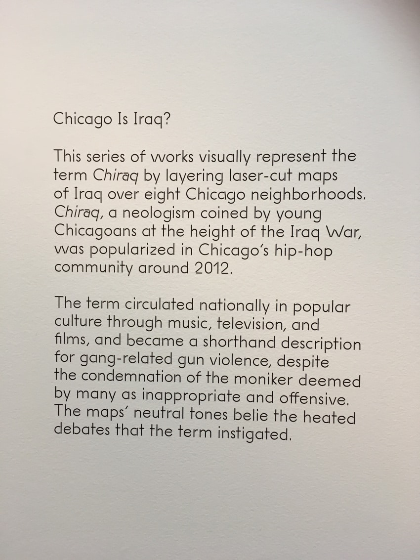 Visiting Chicago's Museum of Contemporary Art