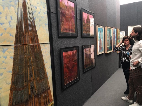 A Visit to the Frieze Art Fair in NYC, part I