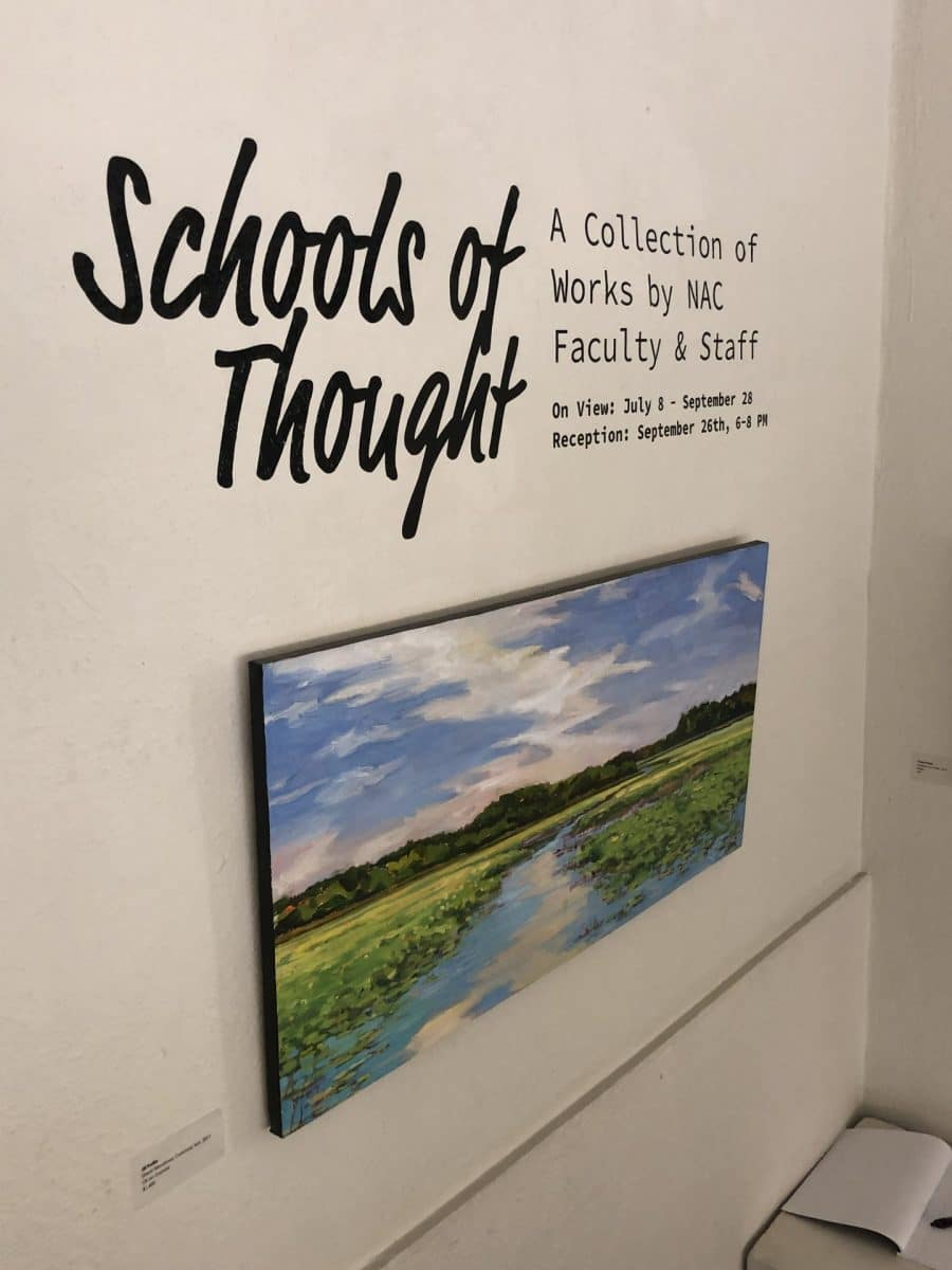 New Art Center - Schools of Thought