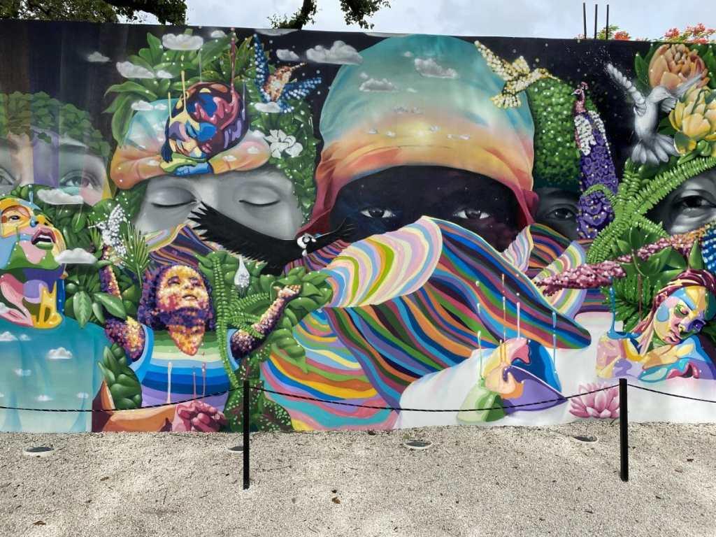 Dasic Fernández's Wynwood Walls in Miami Mural
