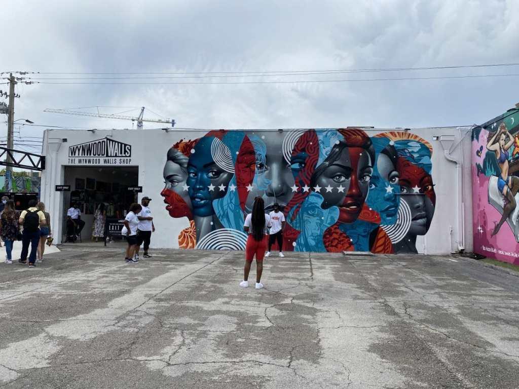 Wynwood Walls in Miami mural by Tristan Eaton