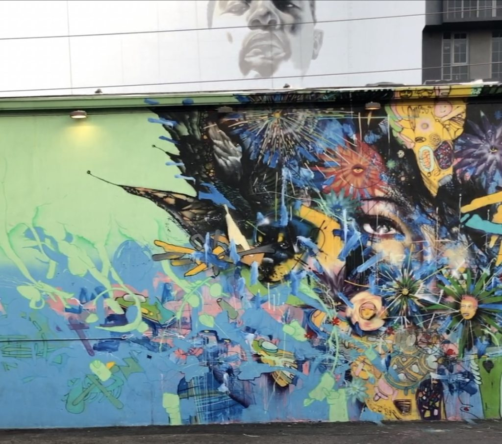 Wynwood Walls in Miami 2018 Mural