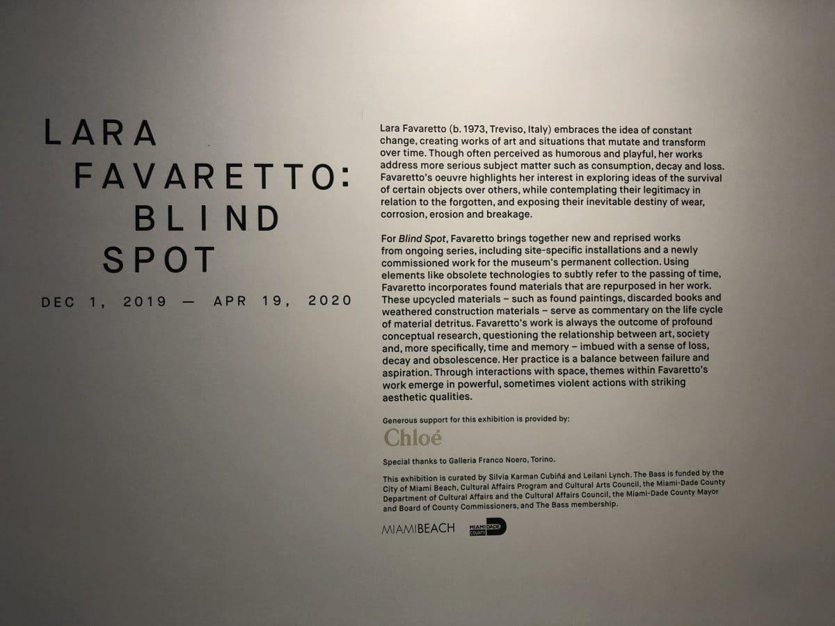 Lara Favaretto at The Bass Museum of Art in Miami