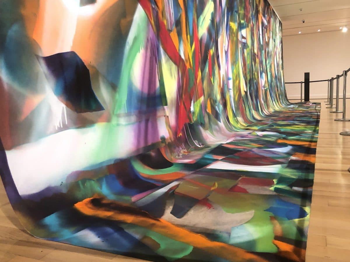 Jackson Pollock and Katharina Grosse at Boston's MFA