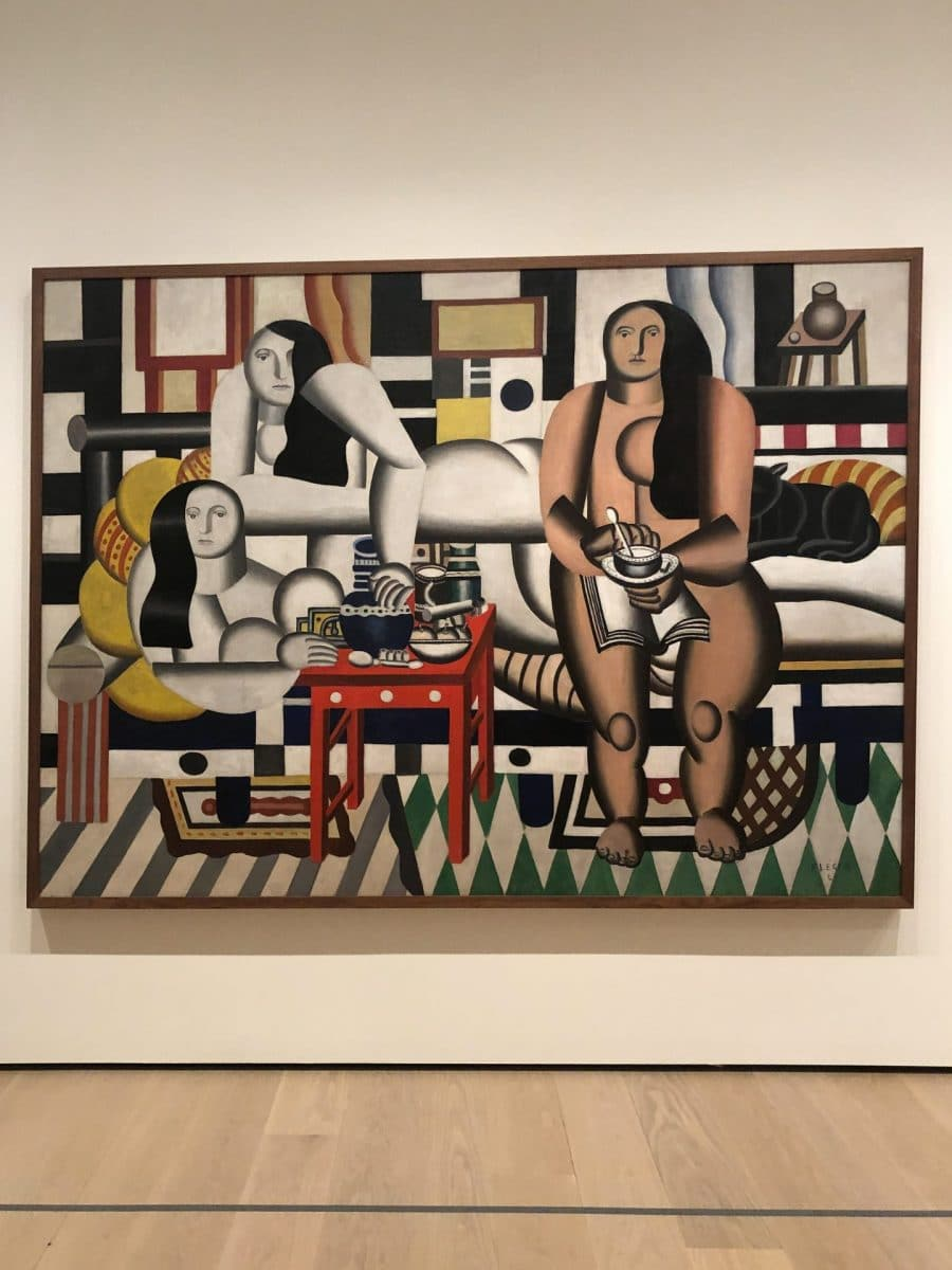 Exploring the details at MoMA