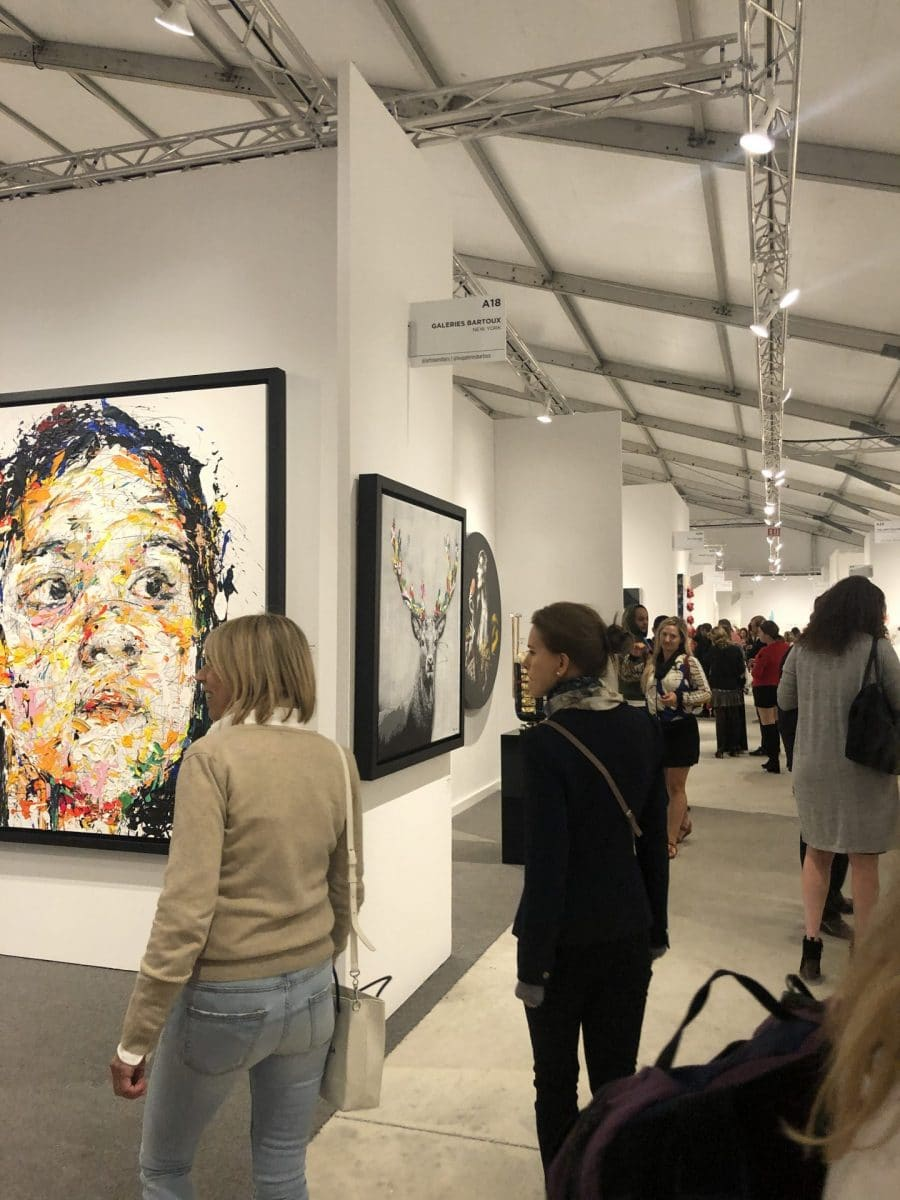 Thinking of showing at an art fair? Here's some advice!