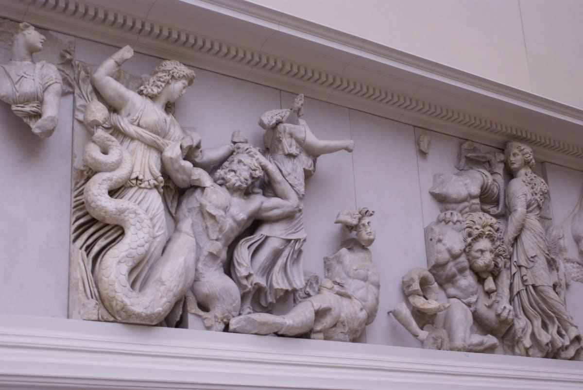 Altar of Zeus from Pergamon Museum