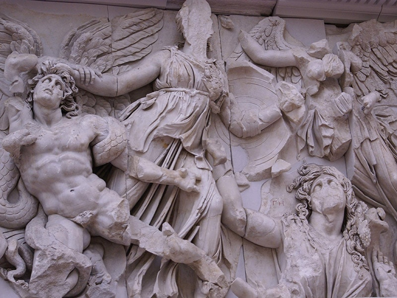 Altar of Zeus from Pergamon Museum and more